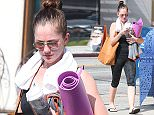 Picture Shows: Minka Kelly  February 16, 2015    'Almost Human' actress Minka Kelly is seen leaving a yoga class in Los Angeles, California. Minka dressed casually in a black tank top and print cropped leggings.    Non-Exclusive  UK RIGHTS ONLY    Pictures by : FameFlynet UK    2015  Tel : +44 (0)20 3551 5049  Email : info@fameflynet.uk.com