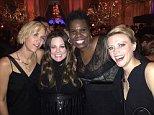 cast of the new ghostbusters posed up at the SNL 40th Kristen Wiig Melissa McCarthyMelissa McCarthy Kate McKinnonKate McKinnon Leslie JonesLeslie Jones