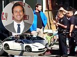 EXCLUSIVE: **NO USA TV AND NO USA WEB** MINIMUM FEE APPLY**TMZ report that Armie Hammer and friends created a blockade after a Ferrari driver was allegedly racing down Trendy Abbot Kinney in Venice and the argument go so heated the cops were called\n\nPictured: Armie Hammer\nRef: SPL953189  160215   EXCLUSIVE\nPicture by: TMZ.com / Splash News\n\nSplash News and Pictures\nLos Angeles: 310-821-2666\nNew York: 212-619-2666\nLondon: 870-934-2666\nphotodesk@splashnews.com\n