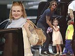 Picture Shows: Nicole Kidman  February 15, 2015.. .. Couple Nicole Kidman and Keith Urban take their family out for lunch in Beverly Hills, California. .. .. Nicole received the worst actress performance for her role in 'Grace Of Monaco' by the British Academy for Rubbish Film and Terrible Acting aka BARFTA. .. .. Exclusive - All Round.. UK RIGHTS ONLY.. .. Pictures by : FameFlynet UK © 2015.. Tel : +44 (0)20 3551 5049.. Email : info@fameflynet.uk.com