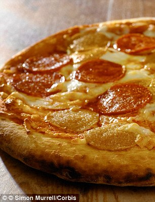 Trans fats, found in processed and takeaway foods like pizza damage sperm cells
