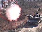 韩军最新K2坦克火力好猛
