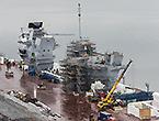 英国两艘新航母造得不快