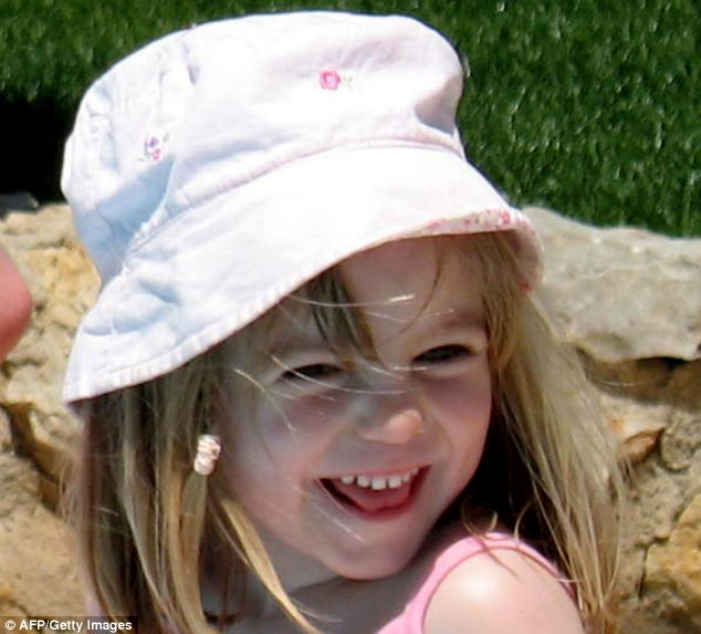 Comparison: The case bears a disturbing similarity to theories about the disappearance of British toddler Madeleine McCann, who went missing on a family holiday in Portugal on May 3, 2007