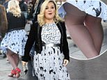 Mandatory Credit: Photo by Beretta/Sims/REX (4438091h)  Kelly Clarkson going to Capital Radio  Kelly Clarkson out and about, London, Britain - 19 Feb 2015