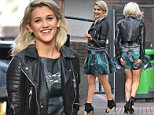 19 February 2015. Ashley Roberts outside the London Studios Credit: Andy Oliver/GoffPhotos.com   Ref: KGC-143