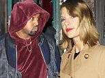 Kanye West and Taylor Swift embark on a surprise dinner date at The Spotted Pig in New York City. The duo are said to be in the early stages of recording a song together.  February 17, 2015 X17online.com
