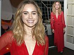 LOS ANGELES, CA - FEBRUARY 18:  Actress Suki Waterhouse attends VANITY FAIR and Barneys New York Dinner benefiting OXFAM, hosted by Rooney Mara at Chateau Marmont on February 18, 2015 in Los Angeles, California.  (Photo by Charley Gallay/Getty Images for Vanity Fair)