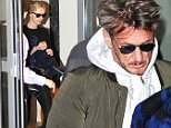 Picture Shows: Sean Penn, Charlize Theron  February 18, 2015\n \n Sean Penn and girlfriend Charlize Theron are spotted leaving the Soho Hotel in London, England.\n \n The couple were in town for the premiere of Sean's latest film 'Gunman'.\n \n Non Exclusive\n WORLDWIDE RIGHTS\n \n Pictures by : FameFlynet UK © 2015\n Tel : +44 (0)20 3551 5049\n Email : info@fameflynet.uk.com