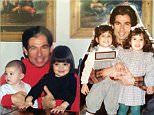 #TBT love these two shots!! One on the left is Robert Kardashian with @kyliejenner and @kendalljenner and the one on the right is him and @kourtneykardash and @kimkardashian ...#family #love #memories