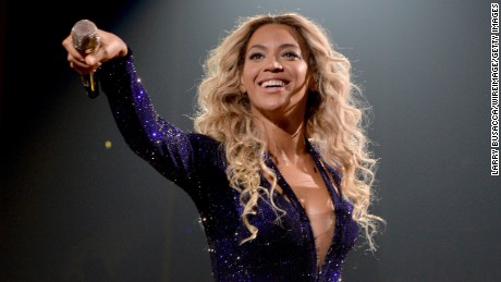 "Beyonce performs on stage during ""The Mrs. Carter Show World Tour"" at the Staples Center on December 3, in Los Angeles."