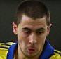 Eden Hazard of Chelsea is tackled by Marco Verratti of Paris Saint-Germain