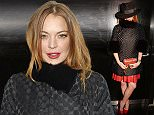LONDON, ENGLAND - FEBRUARY 20:  Lindsay Lohan attends the launch of 'Hunger Magazine, We've Got Issues' at W London - Leicester Square on February 20, 2015 in London, England.  (Photo by David M. Benett/Getty Images for Delfina Delettrez)