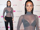HOLLYWOOD, CA - FEBRUARY 19:  Draya Michele arrives at the OK! Magazine Pre-Oscar Event at The Argyle on February 19, 2015 in Hollywood, California.  (Photo by Jennifer Lourie/Getty Images)