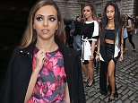 LONDON, ENGLAND - FEBRUARY 20:  Jade Thirlwall and Leigh-Anne Pinnock seen arriving for Jean-Pierre Braganza at Somerset House on February 20, 2015 in London, England.  (Photo by Neil Mockford/Alex Huckle/GC Images)