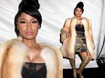 Nicki Minaj  Marc Jacobs show, Mercedes-Benz Fashion Week, New York, America