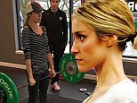 Exclusive. Coleman-Rayner. \nFebruary 18th, 2015. Chicago, IL. USA.\nKnown for her small lean body, Kristin Cavallari is seen bulking up at the Chicago Sports Institute with the help of her strength and conditioning coach, Mike Sorrentino.\nCREDIT LINE MUST READ: Coleman-Rayner.\nTel US (001) 310-474-4343- office\nwww.coleman-rayner.com