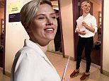 HOLLYWOOD, CA - FEBRUARY 19:  (EDITORS NOTE: This image has been altered digitally) Scarlett Johansson seen backstage during rehersals for the 2015 Oscars at the Dolby Theatre at Hollywood and Highland on February 19, 2015 in Hollywood, California.  (Photo by Christopher Polk/Getty Images)