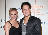 """Mandatory Credit: Photo by Startraks Photo/REX (913865m).. Hilary Duff and boyfriend Mike Comrie.. 'Stay Cool' Film Premiere at the Tribeca Film Festival, New York, America - 23 Apr 2009.. Directed by the Polish brothers, this film comedy stars Mark Polish, Winona Ryder, Hilary Duff, Sean Astin and Chevy Chase in a story about a successful author (""""Henry"""", played by Mark Polish) who must face one of his high school crushes (Winona Ryder) when he travels back home to deliver a commencement address at his high school. Even after 20 years, it feels like he never left. Henry stays in his old room, perfectly preserved with '80s artifacts, and a luggage mishap leaves him no choice but to squeeze into clothes still hanging in his closet. Within hours of reuniting with his old pals (Sean Astin and Josh Holloway), they convince Henry to call his old crush, Scarlet (Winona Ryder), who has just broken up with her ex-jock boyfriend. Things for Henry are off to a decent start, but enter a sexy hig"""