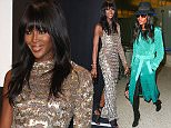 20 Feb 2015 - LOS ANGELES - USA  NAOMI CAMPBELL AT LAX.  BYLINE MUST READ : XPOSUREPHOTOS.COM  ***UK CLIENTS - PICTURES CONTAINING CHILDREN PLEASE PIXELATE FACE PRIOR TO PUBLICATION ***  **UK CLIENTS MUST CALL PRIOR TO TV OR ONLINE USAGE PLEASE TELEPHONE  44 208 344 2007 ***