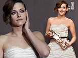 Actress Kristen Stewart poses as she arrives at the 40th Cesar Awards ceremony in Paris February 20, 2015.         REUTERS/Christian Hartmann (FRANCE  - Tags: ENTERTAINMENT)