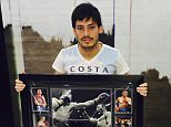 David SilvaVerified account  David Silva    @21LVA What a present I received today from the legend  @HitmanHatton .Thanks amigo!