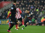 Southampton v Liverpool, premier league.   Picture Andy Hooper Daily Mail/ Solo Syndication pic shows coutinho scores