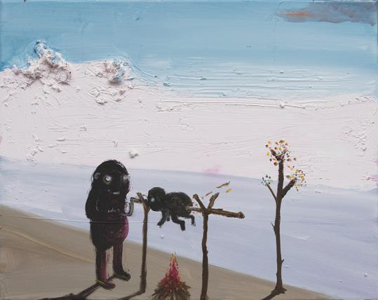 40x50 cm | Öl auf Leinwand | 2009