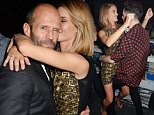 LONDON, ENGLAND - FEBRUARY 25:  Rosie Huntington-Whiteley (L) and Nick Grimshaw attend the Universal Music Brits party hosted by Bacardi at The Soho House Pop-Up on February 25, 2015 in London, England.   Pic Credit: Dave Benett