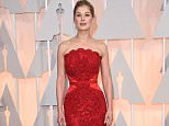HOLLYWOOD, CA - FEBRUARY 22:  Actress Rosamund Pike attends the 87th Annual Academy Awards at Hollywood & Highland Center on February 22, 2015 in Hollywood, California.  (Photo by Jason Merritt/Getty Images)