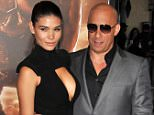 """LOS ANGELES, CA - AUGUST 28: Paloma Jimenez and Vin Diesel attend the premiere of """"Riddick"""" held at Mann Village Theater on August 28, 2013 in Los Angeles, California.  PHOTOGRAPH BY Photo Image Press / Barcroft Media  UK Office, London. T +44 845 370 2233 W www.barcroftmedia.com  USA Office, New York City. T +1 212 796 2458 W www.barcroftusa.com  Indian Office, Delhi. T +91 11 4053 2429 W www.barcroftindia.com"""