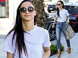 West Hollywood, CA - Cara Santana adds more time to her parking meter as she does some shopping in West Hollywood.  AKM-GSI       February  24, 2015  To License These Photos, Please Contact : Steve Ginsburg (310) 505-8447 (323) 423-9397 steve@akmgsi.com sales@akmgsi.com or Maria Buda (917) 242-1505 mbuda@akmgsi.com ginsburgspalyinc@gmail.com