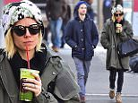 NEW YORK, NY - FEBRUARY 25:  Tom Sturridge and Sienna Miller are seen in Soho   on February 25, 2015 in New York City.  (Photo by Alo Ceballos/GC Images)