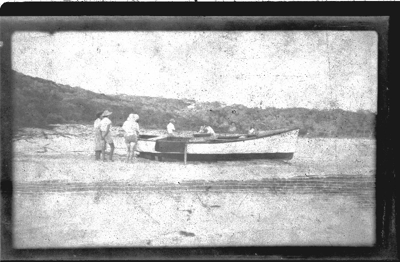 Fishing boat at Amity around 1950