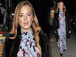 25.FEBRUARY.2015 - LONDON - UK\n\n**EXCLUSIVE ALL ROUND PICTURES**\n\nACTRESS LINDSAY LOHAN ENJOYING HER TIME IN LONDON AS SHE DINED AT THE NOZOMI RESTAURANT \n\nBYLINE MUST READ : XPOSUREPHOTOS.COM\n\n***UK CLIENTS - PICTURES CONTAINING CHILDREN PLEASE PIXELATE FACE PRIOR TO PUBLICATION ***\n\nPLEASE CREDIT USAGE AS PER BYLINE **UK CLIENTS MUST CALL PRIOR TO TV OR ONLINE USAGE PLEASE TELEPHONE +44 208 344 2007