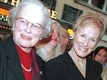 Mandatory Credit: Photo by CHARLES SYKES/REX (320206d).. Glenn Close with mother Batine and daughter Annie at Opening of Music Man on Broadway, Neil Simon Theater.. OPENING OF MUSIC MAN IN NEW YORK. 2000.. ..