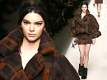 MILAN, ITALY - FEBRUARY 26:  Kendall Jenner walks the runway at the Fendi show during the Milan Fashion Week Autumn/Winter 2015 on February 26, 2015 in Milan, Italy.  (Photo by Andreas Rentz/Getty Images)