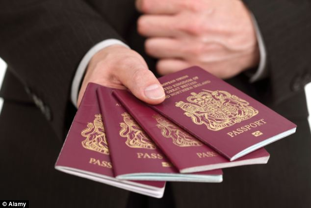 A record 207,989 foreigners were handed citizenship last year - a huge rise on the 82,000 seen in the year 2000