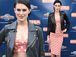 """UNIVERSAL CITY, CA - FEBRUARY 27:  Rumer Willis visits """"Extra"""" at Universal Studios Hollywood on February 27, 2015 in Universal City, California.  (Photo by Noel Vasquez/Getty Images)"""