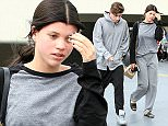 Picture Shows: Sofia Richie  February 27, 2015    Model Sofia Richie is spotted leaving a medical building in Los Angeles, California with a friend. Sofia recently returned from NYC where she attended Mercedes-Benz Fashion Week Fall 2015.    Non-Exclusive  UK RIGHTS ONLY    Pictures by : FameFlynet UK    2015  Tel : +44 (0)20 3551 5049  Email : info@fameflynet.uk.com