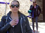 Melanie Chisholm AKA Mel C out and about in north London, UK. 27/02/2015..BYLINE MUST READ : GOTCHAIMAGES.COM....Copyright by © Gotcha Images Ltd. All rights reserved...Usage of this image is conditional upon the acceptance ..of Gotcha Images Ltd, terms and conditions available at..www.gotchaimages.com