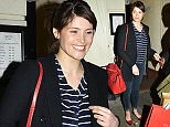 """Picture Shows: Gemma Arterton  February 27, 2015    Gemma Arterton returns to the """"Made In Dagenham"""" the musical at the Adelphi Theatre in London after the cancelled Thursday night performance.    Non-Exclusive  WORLDWIDE RIGHTS    Pictures by : FameFlynet UK    2015  Tel : +44 (0)20 3551 5049  Email : info@fameflynet.uk.com"""