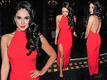 28 Feb 2015 - LONDON - UK  VICKY PATTISON PICTURED ARRIVING AT CAFE DE PARIS WITH LIAM NORVAL   BYLINE MUST READ : XPOSUREPHOTOS.COM  ***UK CLIENTS - PICTURES CONTAINING CHILDREN PLEASE PIXELATE FACE PRIOR TO PUBLICATION ***  **UK CLIENTS MUST CALL PRIOR TO TV OR ONLINE USAGE PLEASE TELEPHONE   44 208 344 2007 **