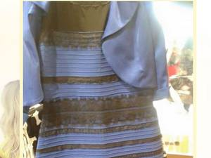 The dress can be seen in different colours