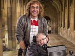 David walliams with Stephen Hawking