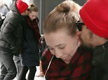 March 3rd, 2015: James Franco shows a female friend some affection as they walk in to watch a movie at the Museum of Modern Art in New York City today. \nMandatory Credit: INFphoto.com Ref.: infusny-279
