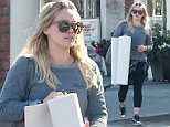 """Picture Shows: Hilary Duff  March 03, 2015    'Younger' star Hilary Duff starts her morning with a trip to a yoga class in Studio City, California.     Hilary recently opened up to Cosmopolitan magazine about her recent divorce from Mike Comrie, sharing both a pessimistic and optimistic point of view.     She stated, """"I don't want to sound bitter because I'm definitely not. But I don't know if people are meant to be together forever. Things happen over a long relationship that you can't always fight. A marriage of twenty years; the accomplishment of that must feel really great, but there are also huge sacrifices. I just always want to fight for happiness"""".      Exclusive All Rounder  UK RIGHTS ONLY  Pictures by : FameFlynet UK    2015  Tel : +44 (0)20 3551 5049  Email : info@fameflynet.uk.com"""