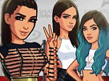 """""""Oh hi girls! Welcome to my world! Get the new update of my game and see @kendalljenner @kyliejenner #KimKardashianHollywoodGame"""""""
