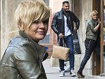 Picture Shows: George Kay, Kerry Katona  March 04, 2015    Kerry Katona and George Kay seen at a South Coast Tattoo Parlour in Bournemouth, Dorset.    Non Exclusive  WORLDWIDE RIGHTS  Pictures by : FameFlynet UK    2015  Tel : +44 (0)20 3551 5049  Email : info@fameflynet.uk.com