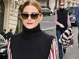 7 Mar 2015 - PARIS - FRANCE **STRICTLY NOT AVAILABLE FOR FRANCE** MODEL OLIVIA PALERMO HOLDS A STRIPED FUR COAT AS SHE LEAVES HER HOTEL IN PARIS BYLINE MUST READ : XPOSUREPHOTOS.COM ***UK CLIENTS - PICTURES CONTAINING CHILDREN PLEASE PIXELATE FACE PRIOR TO PUBLICATION *** **UK CLIENTS MUST CALL PRIOR TO TV OR ONLINE USAGE PLEASE TELEPHONE   44 208 344 2007 **